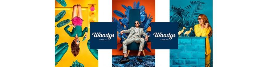 Monturas de graduado Woodys